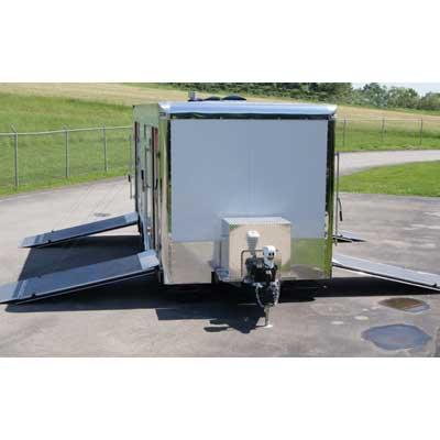 Mobile Concepts Mobdecon Command 24-3L W/Roller System decon trailer