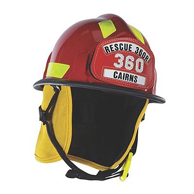 MSA Cairns Rescue 360R Fire Helmet