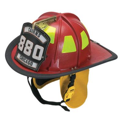 MSA C880BD thermoplastic fire helmet