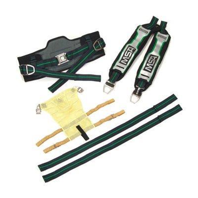 MSA 10181022 G1 Soft Goods Kit: Serviceable Tunnel Straps, Swiveling Lumbar, 4-Pt Harness