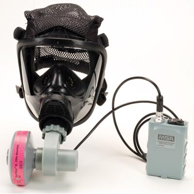 MSA OptimAir air-purifying respirator