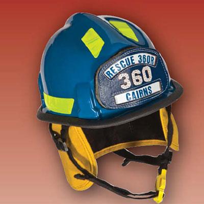 MSA Rescue 360R fire helmet