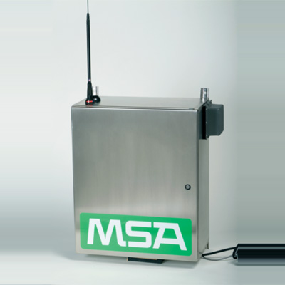 MSA SAFESITE Sentry chemical agent detector
