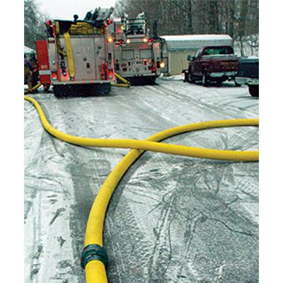 National Fire Hose Triple Poly double jacket municipal fire hose