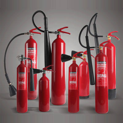 New Ban Fire CE0036 34CrMo4 CO2 fire extinguisher