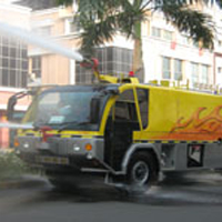 New Sentosa SPECIAL CHASSIS AUSTIN II EURO 3 fire fighting rescue vehicle