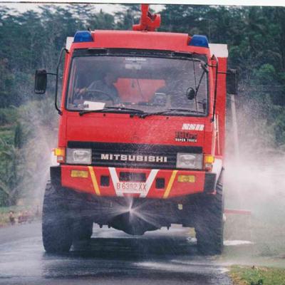 New Sentosa SS 1500 fire truck