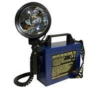 Nightsearcher NS750 verstaile rechargeable searchlight
