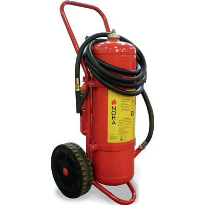 NOHA 25HG/S mobile powder extinguisher