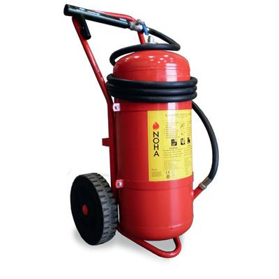 NOHA 50HG/S mobile powder extinguisher