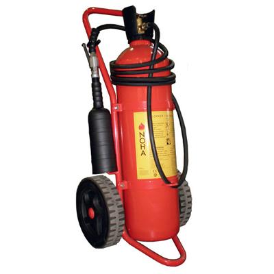 NOHA K20 wheeled CO2 extinguisher with 5m hose