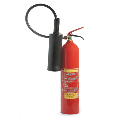 NOHA K5G CO2 extinguisher in aluminum with long snowhorn
