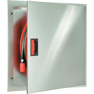 NOHA Model 3A SST fire hose reel with automatic stop valve