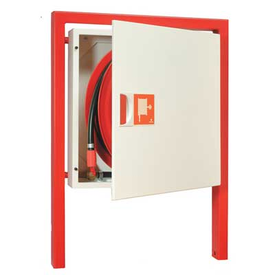 NOHA Model 5BR free-standing fire hose reel