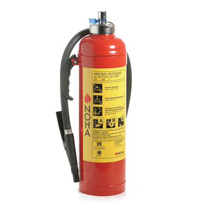NOHA PG 6 carbon steel/stainless steel extinguisher with ammonium phosphate powder