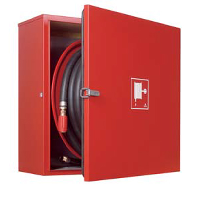 NOHA S23 offshore hose reel in stainless steel for wall-mounting