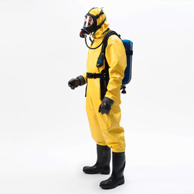 North Safety A140340 L chemcial protective gas tight suit