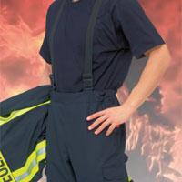 NOVOTEX-ISOMAT 11-334 fire fighter over-trousers