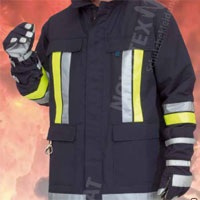 NOVOTEX-ISOMAT 15-450 fire fighter jacket