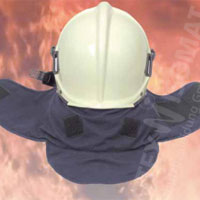 NOVOTEX-ISOMAT 19-996 fire brigade neck and face protection
