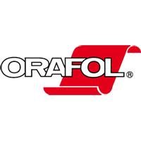 Orafol Europe R2355-064 chevron lime/red reflective film