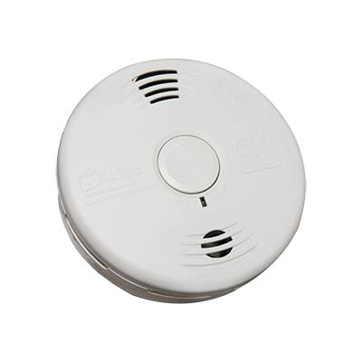 Kidde Fire Systems P3010CU Worry-Free Combination Smoke and Carbon Monoxide Alarm with Sealed Lithium Battery Power