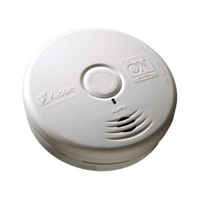 Kidde Fire Systems P3010L Worry-Free Living Area Sealed Lithium Battery Power Smoke Alarm