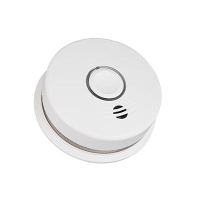 Kidde Fire Systems P4010DCS-W Wire-Free Interconnected Battery Powered Smoke Alarm