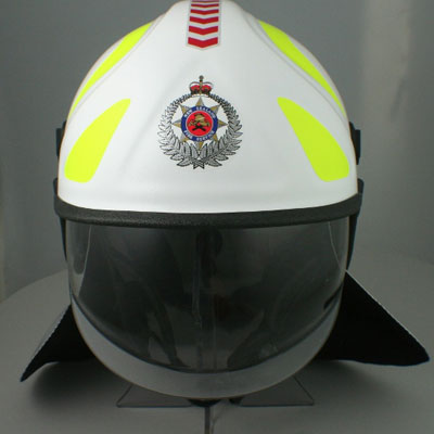 Pacific Helmets F10 MkII structural fire helmet