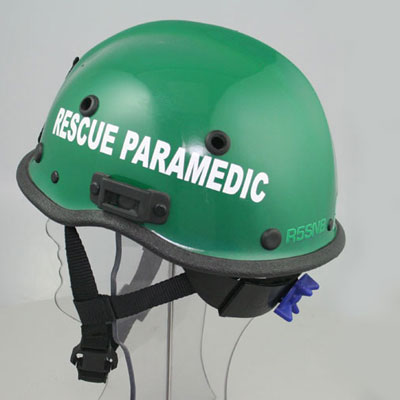 Pacific Helmets WR5 rescue and paramedic helmet