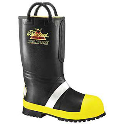 Paul Conway Shields 807-6000 rubber insulated fire boot