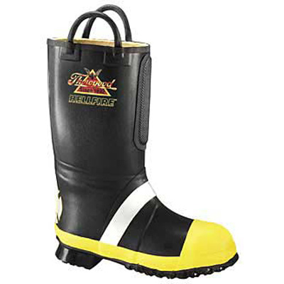 Paul Conway Shields 807-6001 rubber light insulated fire boot