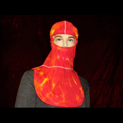 Paul Conway Shields PACII-FLA Flame tie dyed red hood