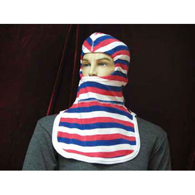 Paul Conway Shields PACII-OLD red, white, blue striped hood
