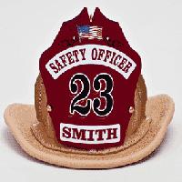 Paul Conway Shields PHE022M-N mini leather fire helmet