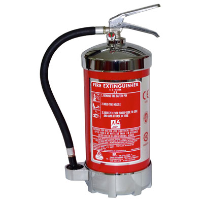 Pii Srl ACQ6CROM portable water fire extinguisher