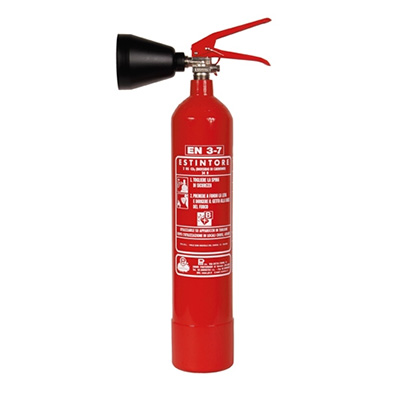 Pii Srl CO20200M portable carbon dioxide fire extinguisher