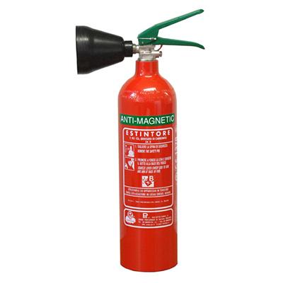 Pii Srl CO202017 portable antimagnetic carbon dioxide fire extinguisher