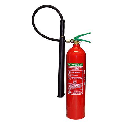 Pii Srl CO205008 portable antimagnetic carbon dioxide fire extinguisher