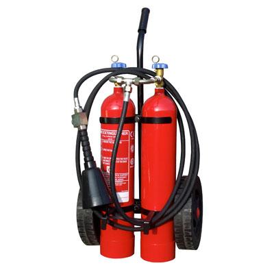 Pii Srl CO210000 mobile carbon dioxide fire extinguisher