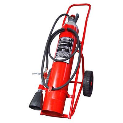 Pii Srl CO220000 mobile carbon dioxide fire extinguisher