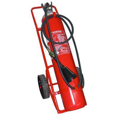 Pii Srl CO230000 mobile carbon dioxide fire extinguisher