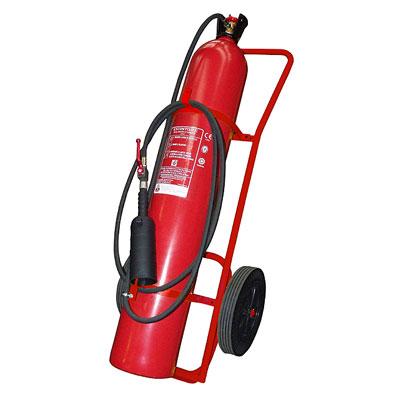 Pii Srl CO250000 mobile carbon dioxide fire extinguisher