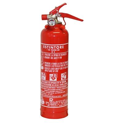 Pii Srl EPP01013 Portable Powder Fire Extinguisher