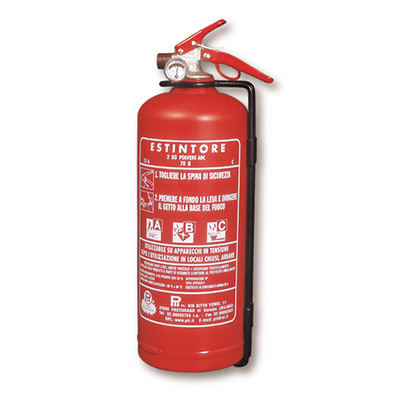 Pii Srl EPP02011 ABC Portable Powder Extinguisher