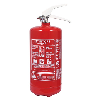 Pii Srl EPP03011 Portable Powder Fire Extinguisher