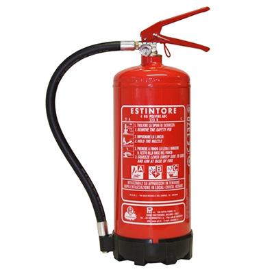 Pii Srl EPP04020 Portable Powder Fire Extinguisher
