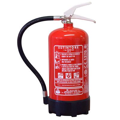 Pii Srl EPP06001 Portable Powder Fire Extinguisher