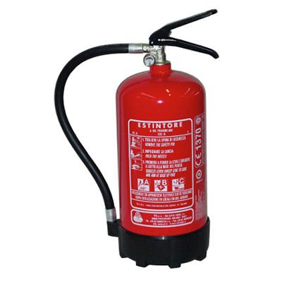 Pii Srl EPP06001/ITA Portable Powder Fire Extinguisher