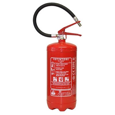 Pii Srl EPP06014 Portable Powder Fire Extinguisher